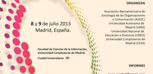 XXVI Seminario Internacional AISOC 2013